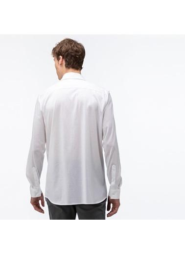 Lacoste Erkek Slim Fit Gömlek CH9723.001 Beyaz